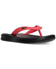 Nike Men's Solay Thong Sandals from Finish Line