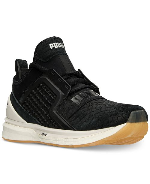 b1d0d267fc69 Puma Men s Ignite Limitless Reptile Casual Sneakers from Finish Line ...