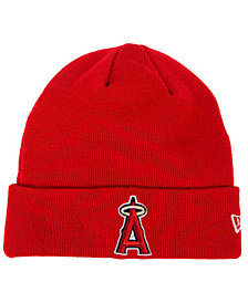 New Era Los Angeles Angels of Anaheim Basic Cuffed Knit Hat