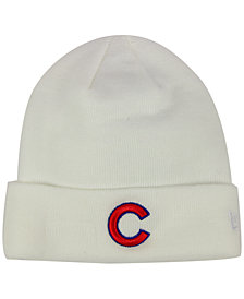 New Era Chicago Cubs Basic Cuffed Knit Hat