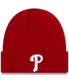 Philadelphia Phillies Basic Cuffed Knit Hat