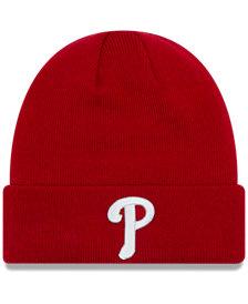 New Era Philadelphia Phillies Basic Cuffed Knit Hat