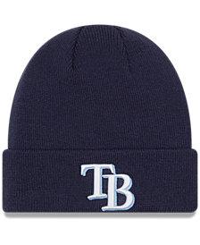 New Era Tampa Bay Rays Basic Cuffed Knit Hat