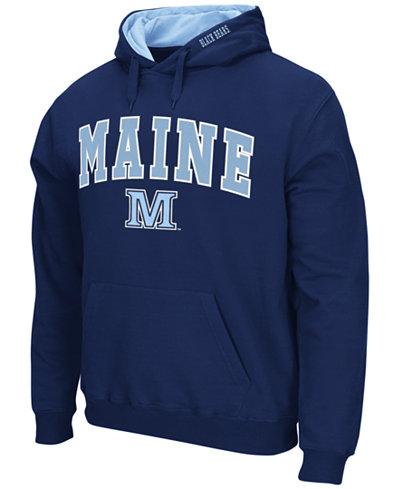 Colosseum Men's Maine Black Bears Arch Logo Hoodie