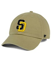 detailed look a41d0 5ab34  47 Brand San Diego Padres Khaki Clean Up Cap ·
