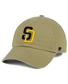 '47 Brand San Diego Padres Khaki Clean Up Cap