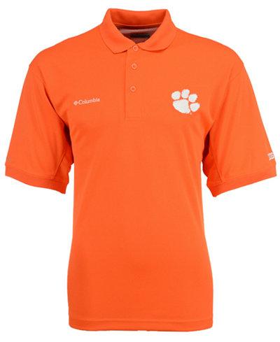 Columbia Men's Clemson Tigers Collegiate Perfect Cast Polo Shirt