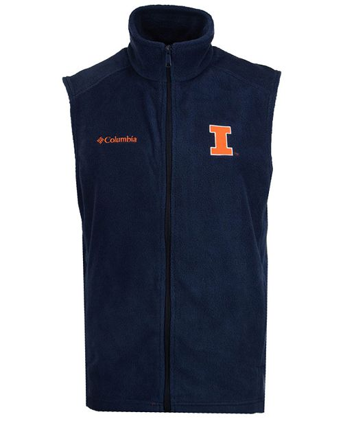 Columbia Men's Illinois Fighting Illini Flanker Vest
