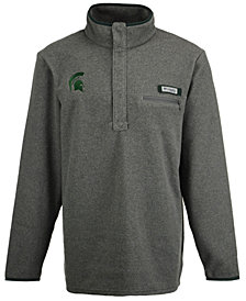 Columbia Men's Michigan State Spartans Harborside Fleece Pullover