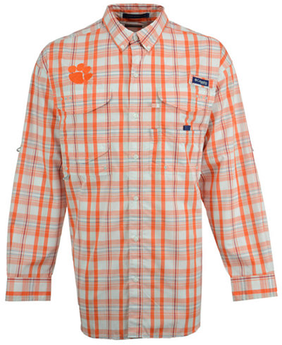 Columbia Men's Clemson Tigers Super Bonehead Long Sleeve Shirt