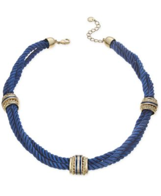 Image of Charter Club Triple Cord Necklace, Created for Macy's