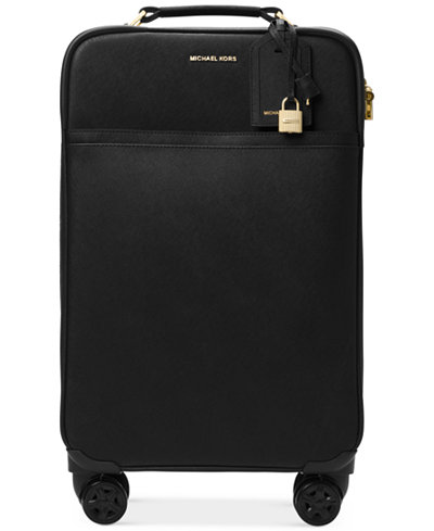 MICHAEL Michael Kors 4-Wheel Large Trolley Suitcase - Handbags ...