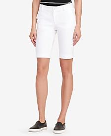 Lauren Ralph Lauren Twill Stretch Bermuda Shorts