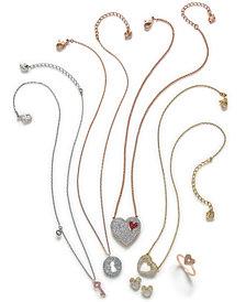 Swarovski Love Themed Jewelry