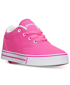 Heels Big Girls' Launch Casual Skate Sneakers from Finish Line
