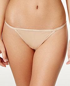 Calvin Klein Sheer Marquisette Smooth Thong QF1681