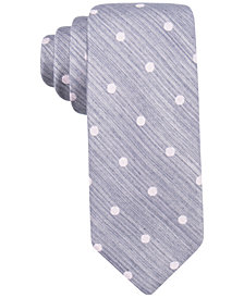 Ryan Seacrest Distinction™ Men's Plaza Dot Slim Tie, Created for Macy's
