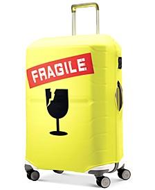 Fragile Medium Luggage Cover