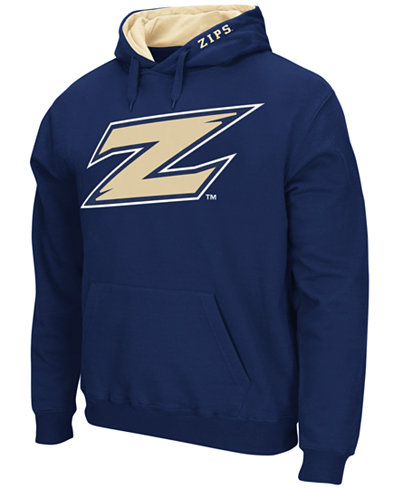 Colosseum Men's Akron Zips Big Logo Hoodie