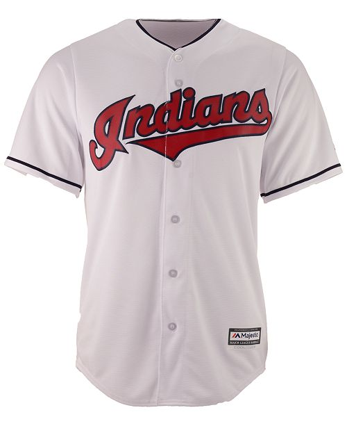 new arrival 6f19d cbda8 Men's Francisco Lindor Cleveland Indians Player Replica CB Jersey