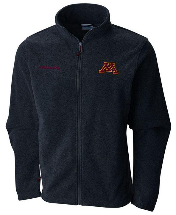 Columbia Men's Minnesota Golden Gophers Flanker Full-Zip Jacket