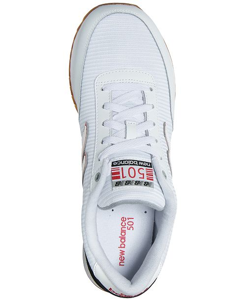 purchase cheap eef33 f66d5 ... New Balance Men s 501 Gum Ripple Casual Sneakers from Finish ...