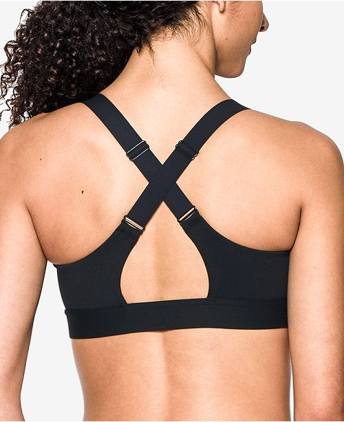 c6654fabf9 Under Armour Eclipse High-Impact Zip Sports Bra   Reviews - All ...