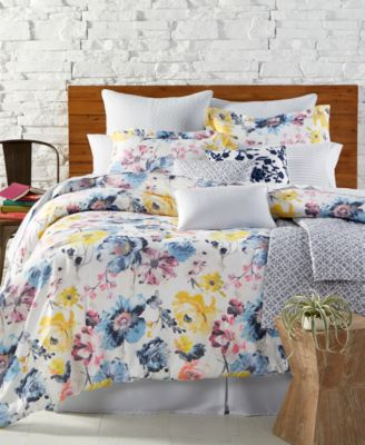 CLOSEOUT! Brianna Reversible 14-Pc. Queen Comforter Set