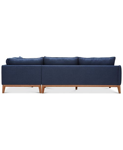 Astonishing Jollene 113 2 Pc Sectional Created For Macys Pabps2019 Chair Design Images Pabps2019Com