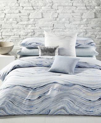 calvin klein quartz cotton duvet sets