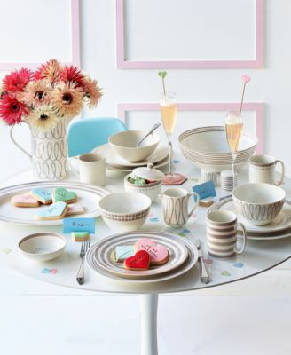 This item is part of the SHOP THE LOOK kate spade new york Tablescape  sc 1 st  Macyu0027s & Wickford 4 Piece Place Setting
