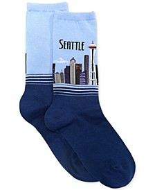 Women's Seattle Fashion Crew Socks