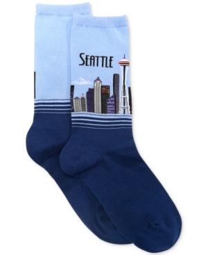 Women's Seattle Fashion Crew Socks