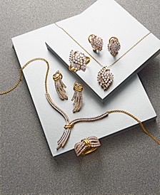 Diamond Earrings, Necklace or Ring (1 ct. t.w.) in 14k Gold, Created for Macy's