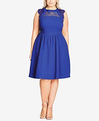 cornflower blue dresses - Shop for and Buy cornflower blue dresses ...