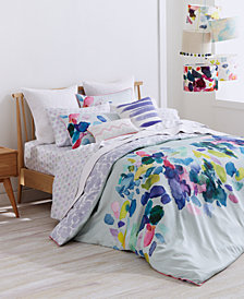 bluebellgray Palette Mint Cotton Reversible King Duvet Set