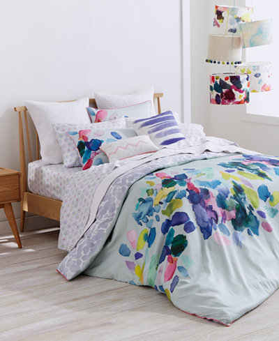 bluebellgray Palette Mint Reversible Full/Queen Comforter Set