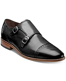 Men's Marino Double Monk Strap Oxfords, Created for Macy's