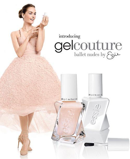 Essie Gel Couture Ballet Nudes