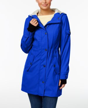 Image of 1 Madison Expedition Hooded Raincoat