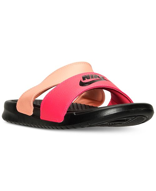 99b8d10f6 ... Nike Women s Benassi Duo Ultra Slide Sandals from Finish Line ...