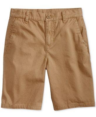 Ring of Fire Chino Cotton Shorts, Big Boys (8-20)