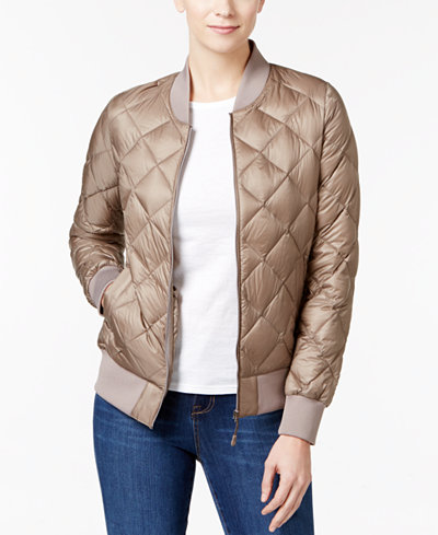 32 Degrees Quilted Packable Bomber Jacket Women Macy S