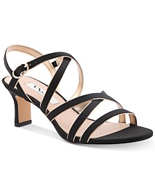 Nina Genaya Strappy Evening Sandals