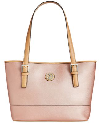 Image of Giani Bernini Saffiano Tote, Only at Macy's
