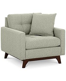 "Nari 36"" Fabric Tufted Armchair, Created for Macy's"