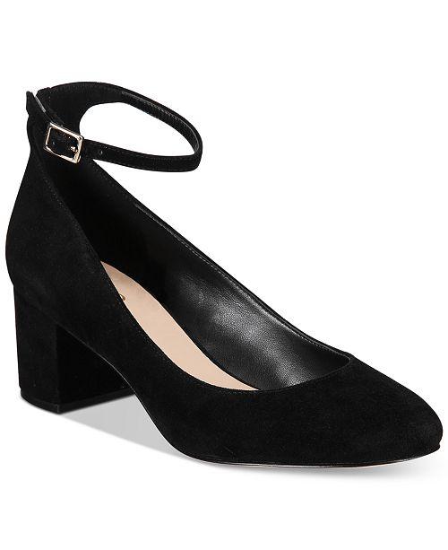 5f56a0e23dd ALDO Clarisse Block-Heel Pumps   Reviews - Pumps - Shoes - Macy s
