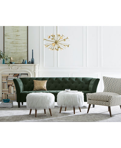 Arielle Tufted Fabric Sofa Collection, Created for Macy's