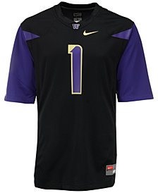 Nike Men's Washington Huskies Replica Football Game Jersey