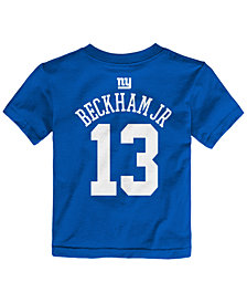 Outerstuff Toddlers' Odell Beckham Jr. New York Giants Mainliner Player T-Shirt